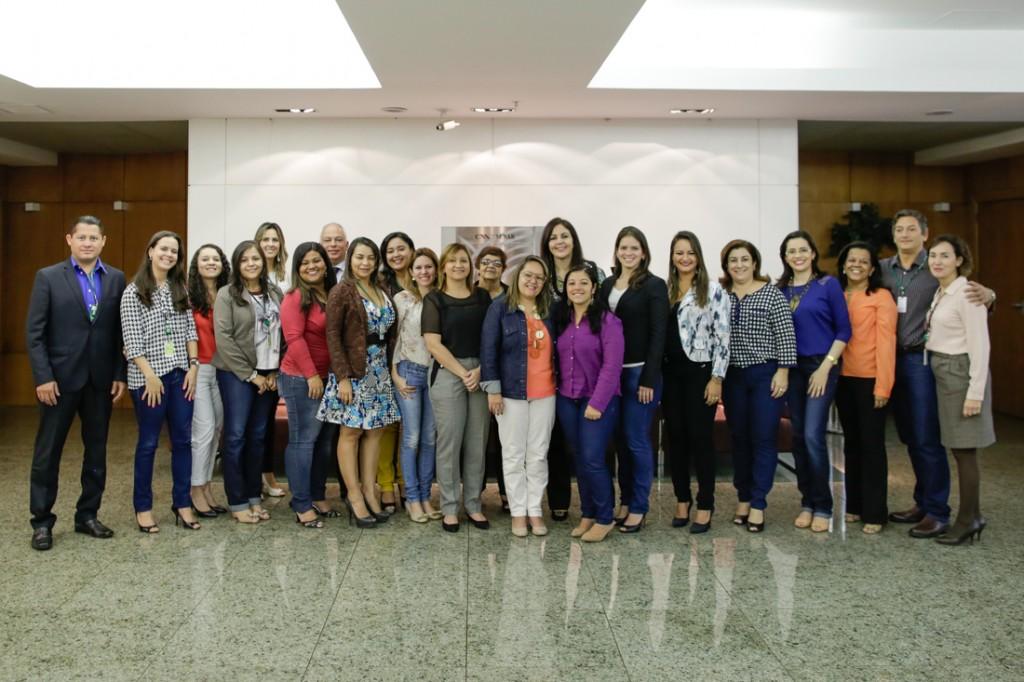 Foto: Encontro reuniu coordenadores pedagógicos de diversos Estados em Brasília. Foto: Wenderson Araújo
