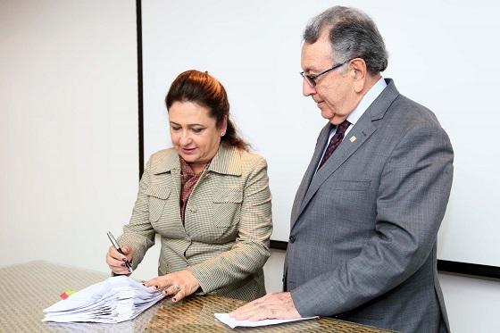 assinatura ATER com Kátia Abreu e João Martins