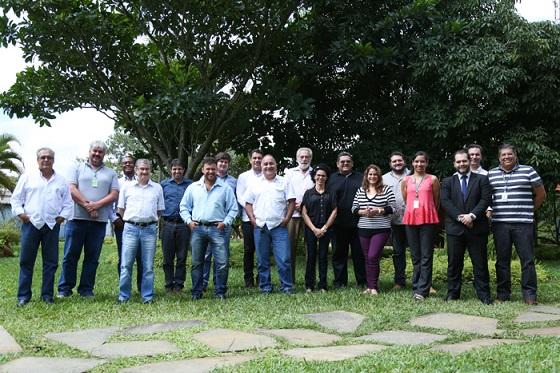 Participantes do curso e equipe técnica do SENAR Brasil
