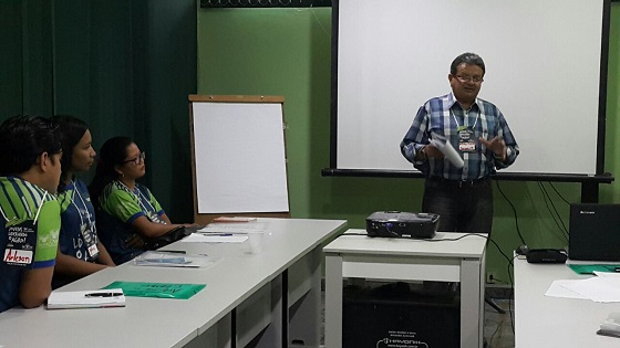 O superintendente do SENAR-AP fez questão de participar do encontro estadual