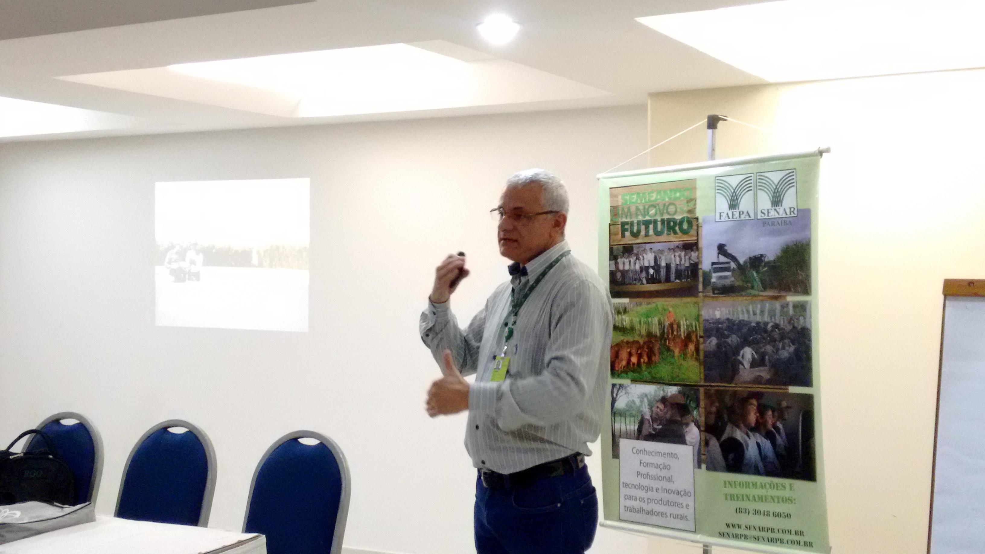 Rubens de Oliveira fala da importância do melhoramento genético do milho