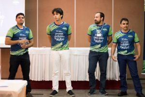 Iury Araújo, Márcio André, Rogério Leite e Rafael Gouveia foram os quatro novos líderes selecionados na etapa estadual do CNA Jovem