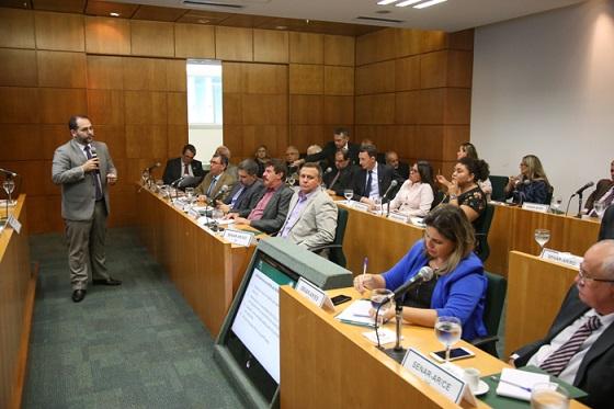 Coordenador da ATeG do SENAR, Matheus Ferreira.