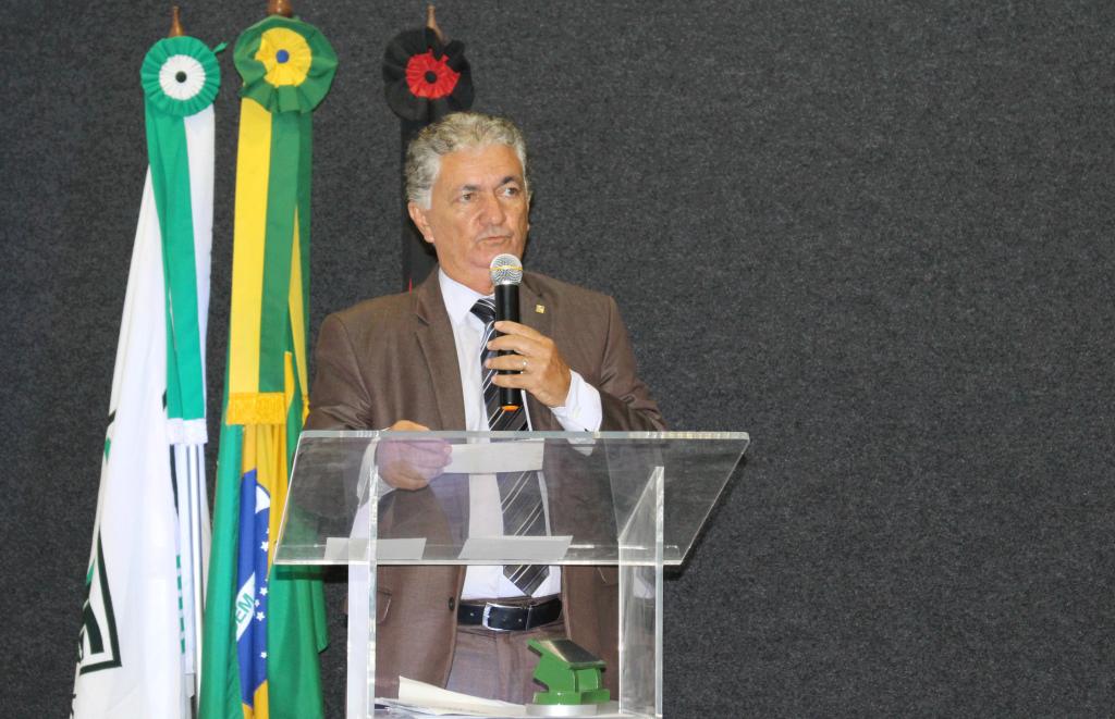 Presidente do Conselho Administrativo do SENAR-PB, Mário Borba