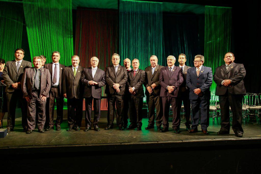 Solenidade aconteceu em Brasília e contou com presença do presidente Michel Temer