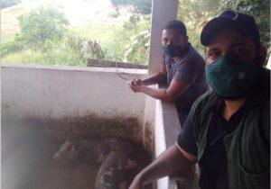 Técnico Ramon e o Produtor